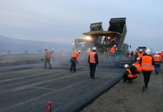 Construction of Ashgabat-Turkmenabat highway continues