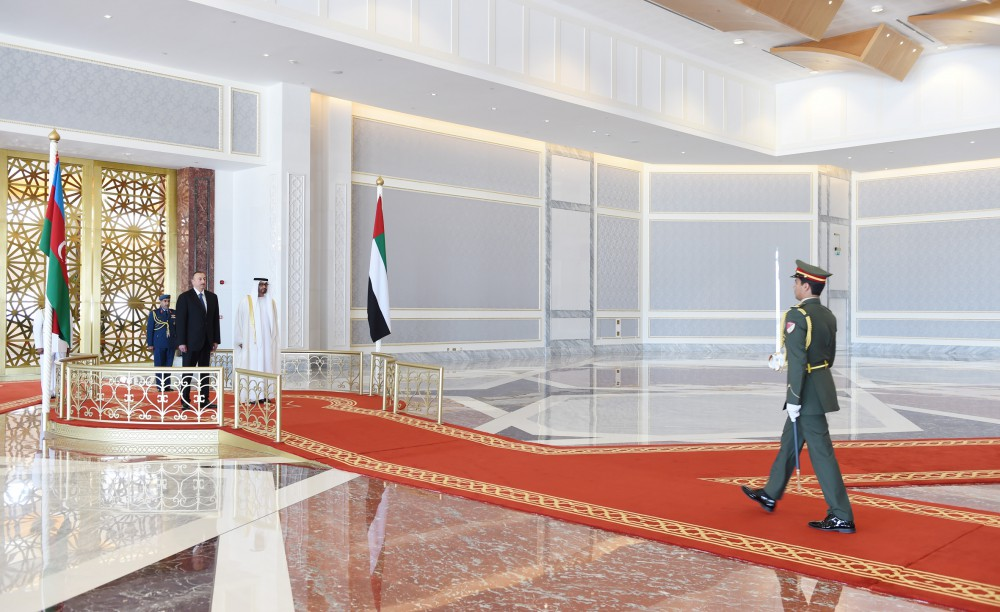 Azerbaijani president pays official visit to UAE - Gallery Image