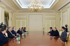 President Ilham Aliyev received delegation led by Greek Foreign Minister - Gallery Thumbnail