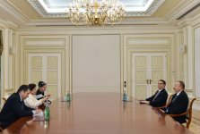 President Ilham Aliyev received the United Nations Under-Secretary-General - Gallery Thumbnail