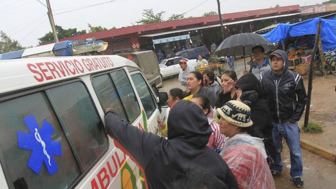 В Боливии в результате аварии погибли 17 человек, 18 ранены