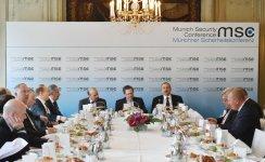 Президент Азербайджана принял участие в круглом столе по энергополитике на Мюнхенской конференции по безопасности (ФОТО) - Gallery Thumbnail