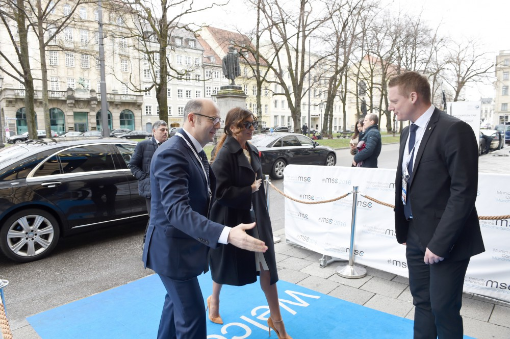 Azerbaijani first lady attends Munich Security Conference debates