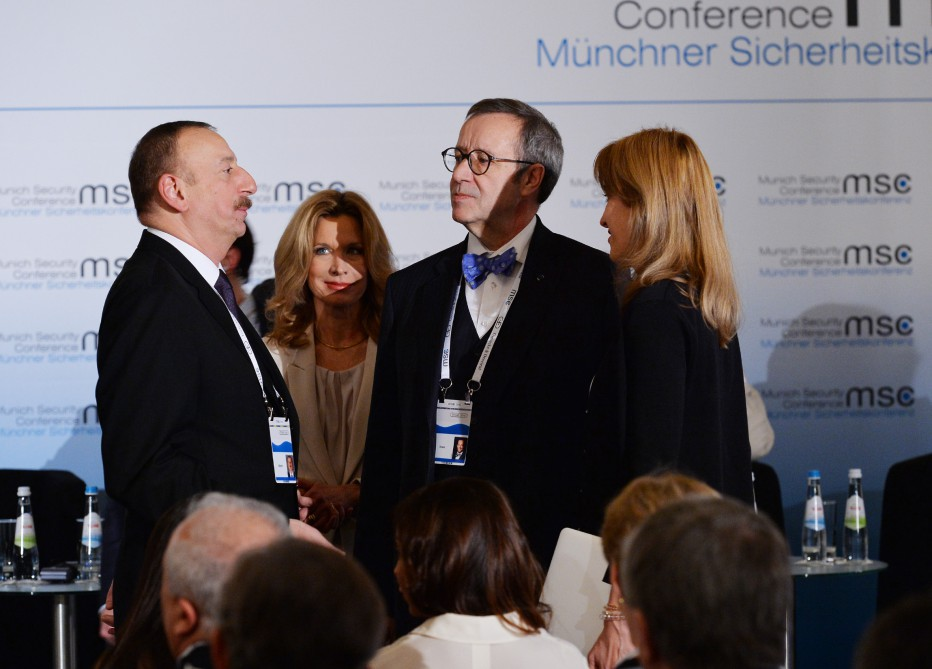 President Ilham Aliyev attended panel discussion on climate and energy security at Munich Security Conference - Gallery Image