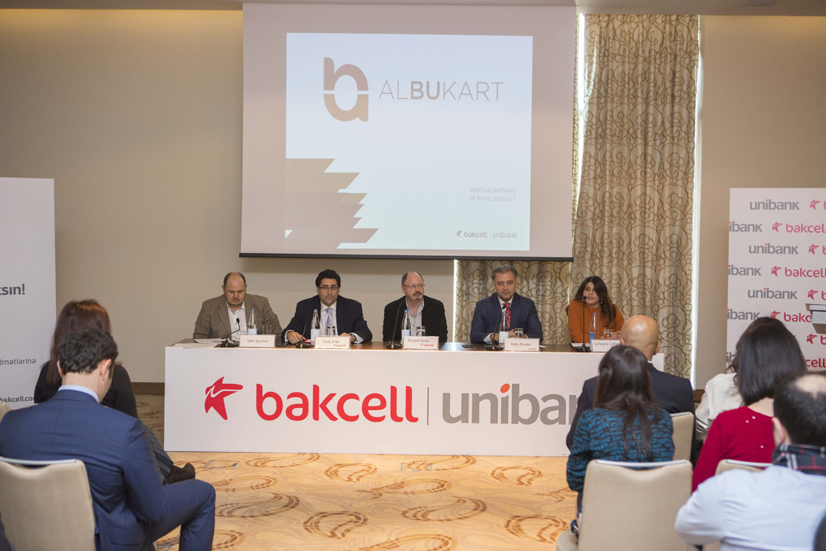 Bakcell and Unibank to introduce the new nameless prepaid ALBUKART
