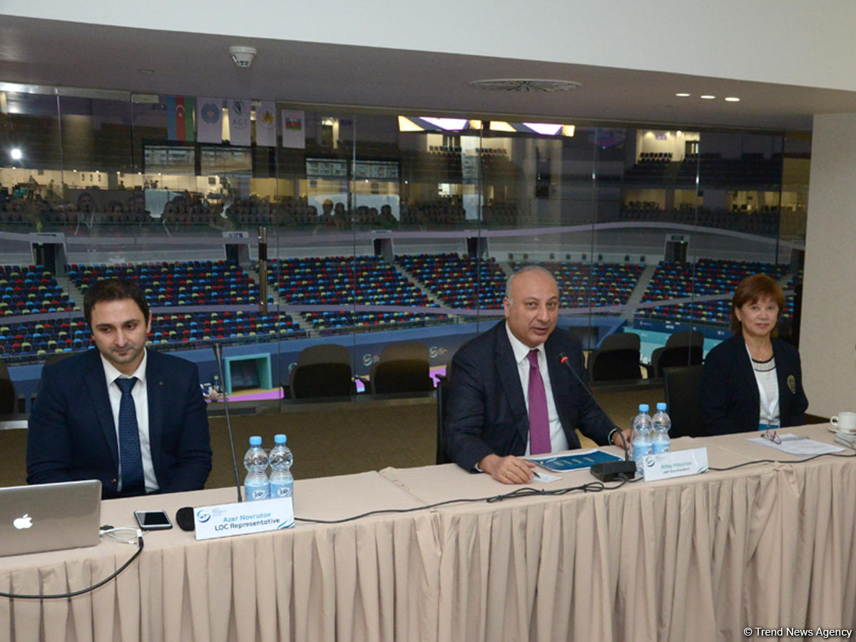 Baku hosts meeting of delegations arriving for FIG World Challenge Cup (PHOTO REPORT)