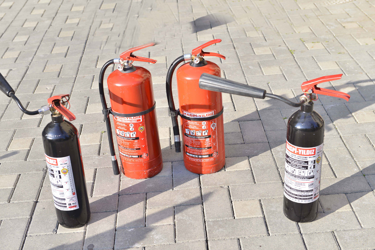 BHOS holds training on the use of fire extinguishers - Gallery Image