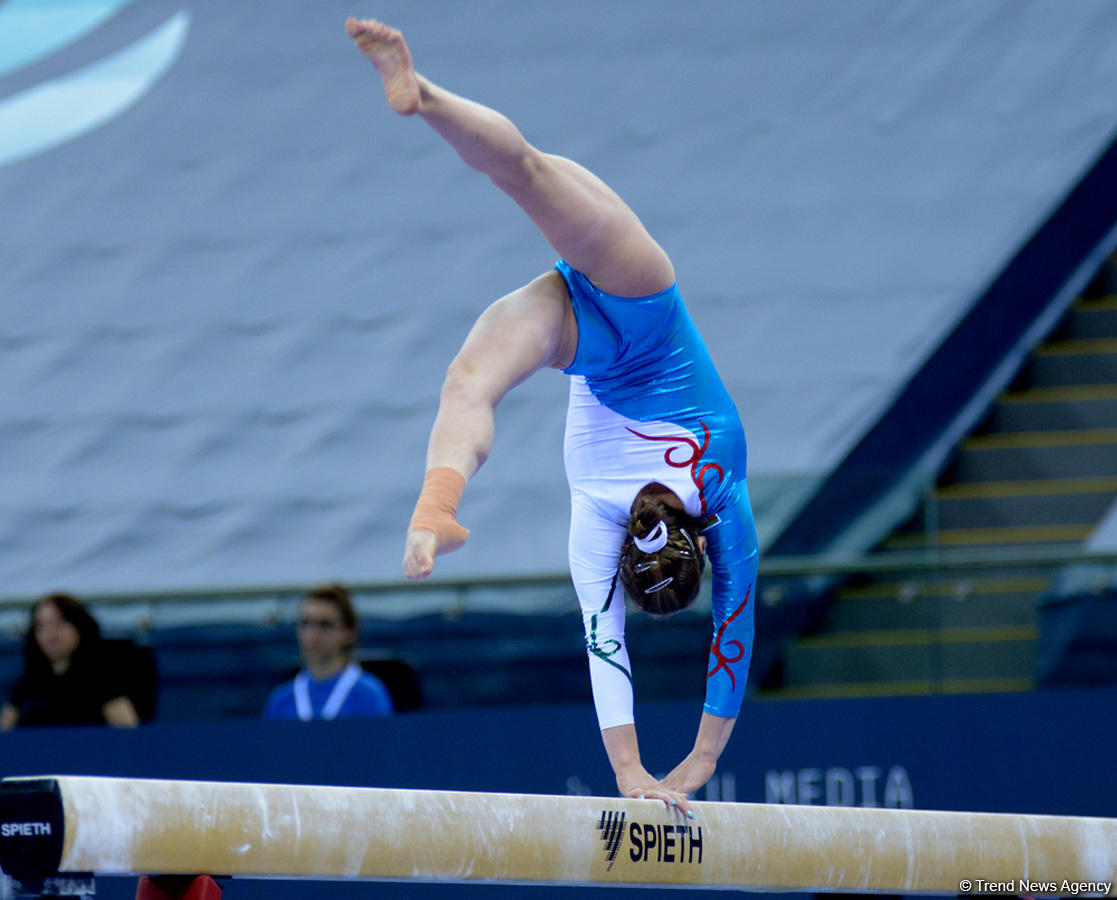 Gymnastics events underway on FIG Cup Day 2 in Baku (PHOTO)