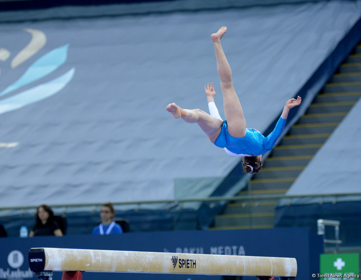 Gymnastics events underway on FIG Cup Day 2 in Baku (PHOTO) - Gallery Image