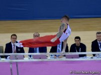 Azerbaijani gymnast Oleg Stepko grabs gold in bars event (PHOTO) - Gallery Thumbnail