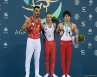 FIG World Challenge Cup in Artistic Gymnastics in Baku (PHOTO) - Gallery Thumbnail