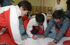Specialized schools in Azerbaijan indicate to development of gymnastics (PHOTO) - Gallery Thumbnail