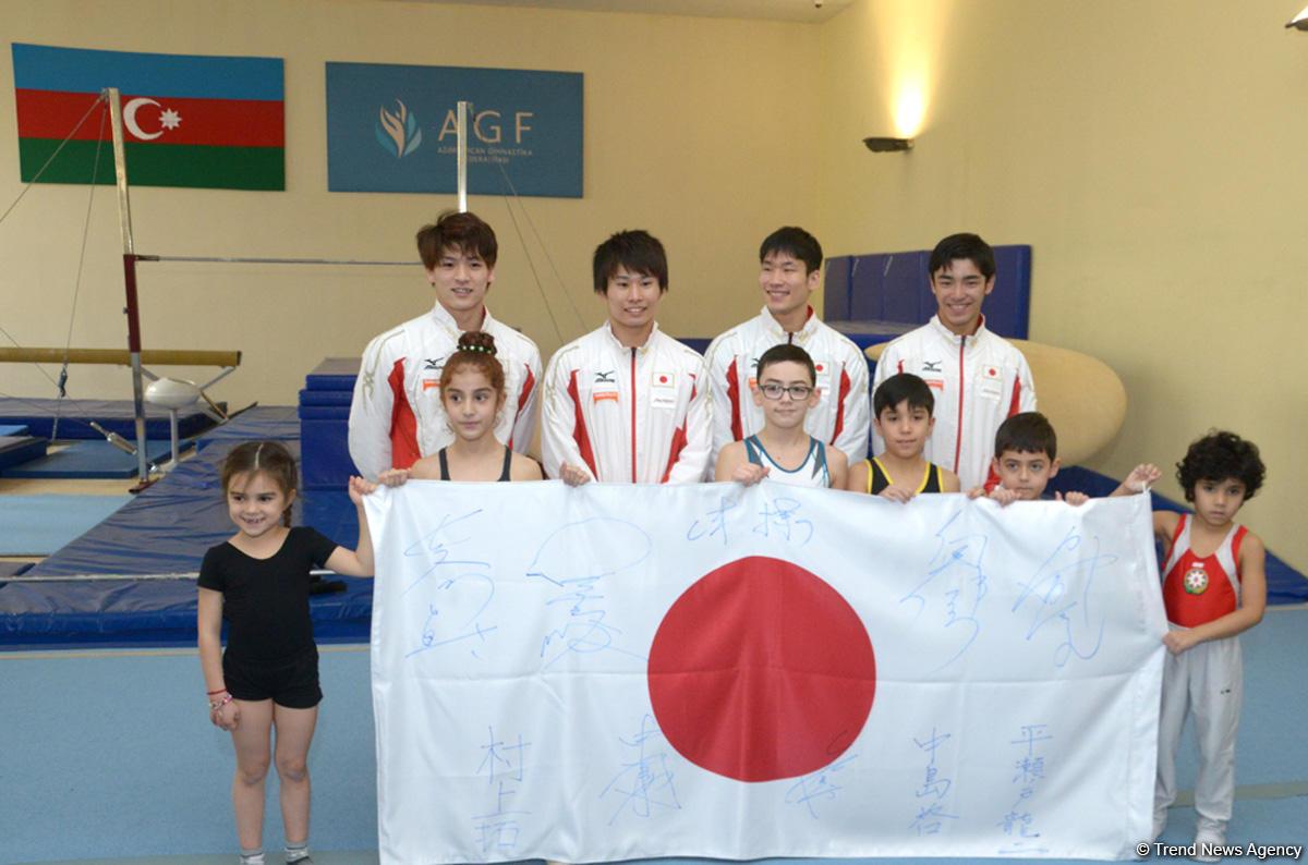 Specialized schools in Azerbaijan indicate to development of gymnastics (PHOTO) - Gallery Image