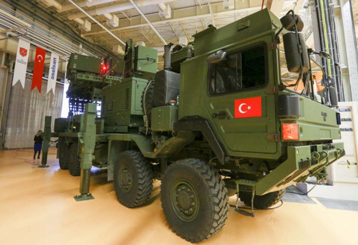 Tükiyənin yeni hava hücumundan müdafiə sistemi (FOTO/VİDEO) - Gallery Image