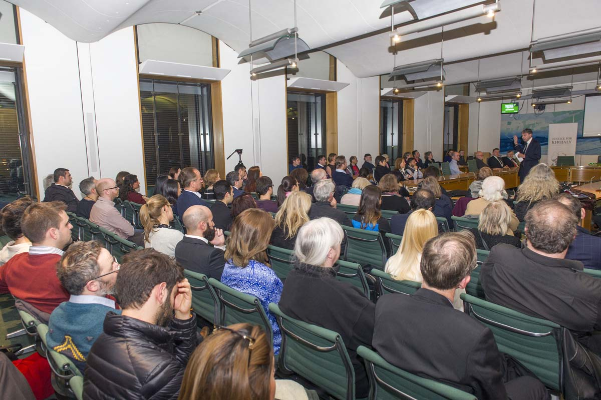Terror of Khojaly brought to UK Parliament (PHOTO) - Gallery Image