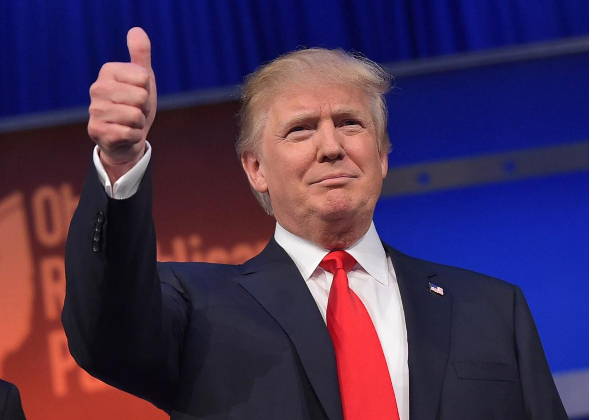 Donald Trump takes Mississippi primary