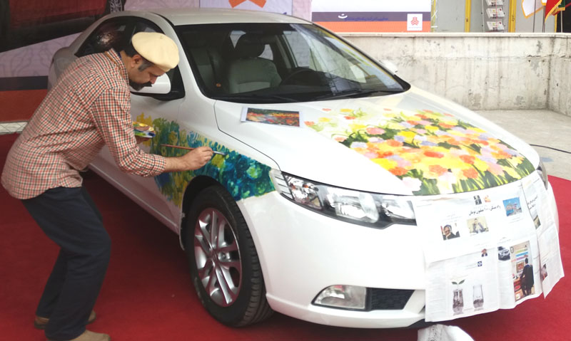 As tardy as a late-coming minister: Iran opens auto industry exhibition