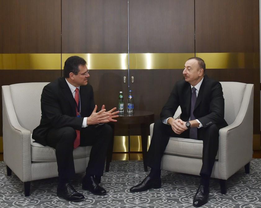 Azerbaijani president receives EU Commission Vice-President for Energy Union - Gallery Image