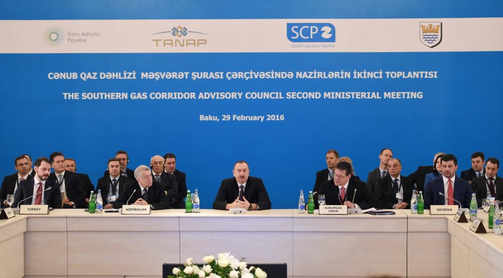 Президент Ильхам Алиев: Энергетическое сотрудничество должно быть освобождено от политического формата - Gallery Image