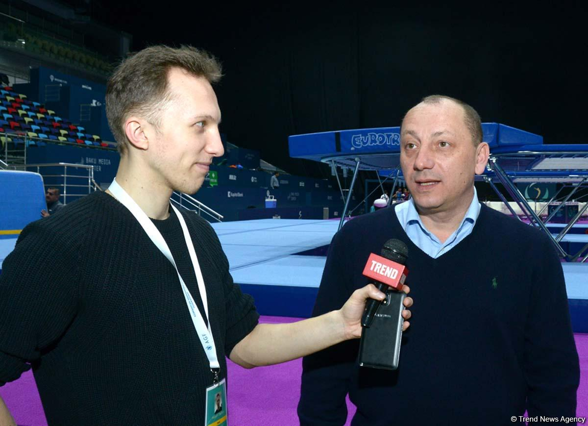 Azerbaijan ready to host world trampoline gymnastics championships - FIG - Gallery Image