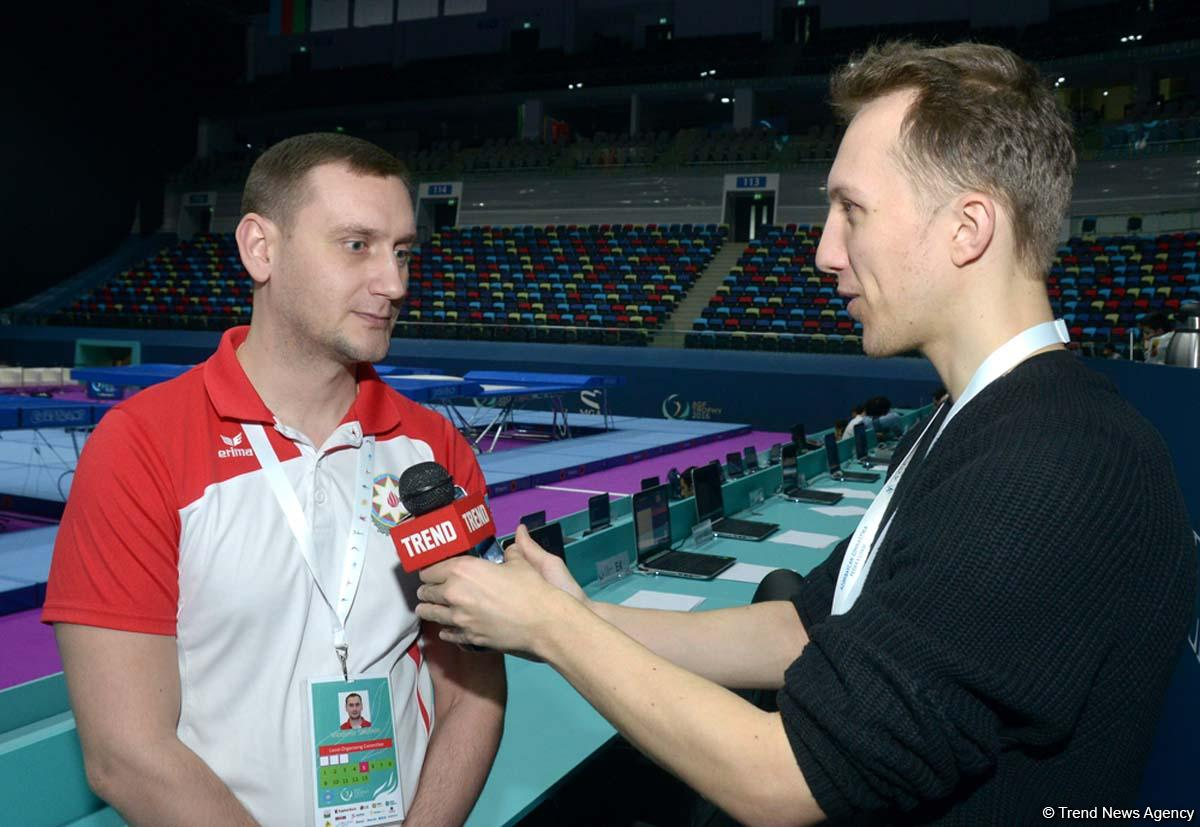 Head coach: Azerbaijan to compete for medals at FIG World Cup in Trampoline Gymnastics - Gallery Image