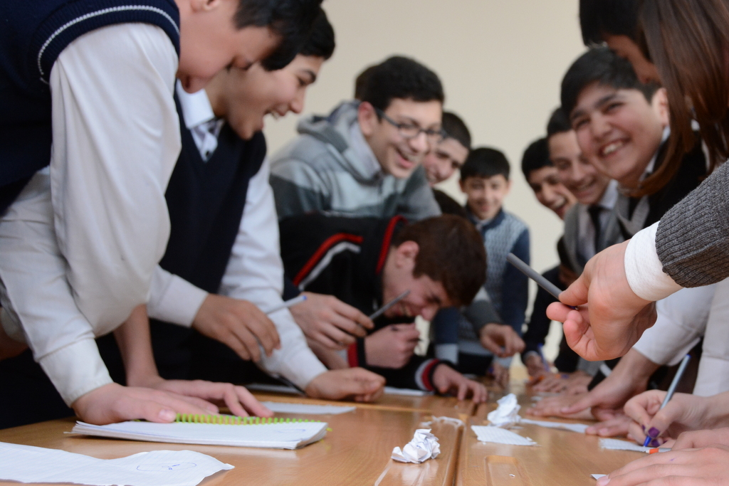 UNEC stimulates enthusiasm for higher education among the schoolchildren - Gallery Image