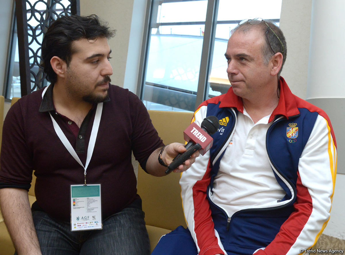 Azerbaijan perfectly prepared for FIG Trampoline Gymnastics World Cup - Gallery Image
