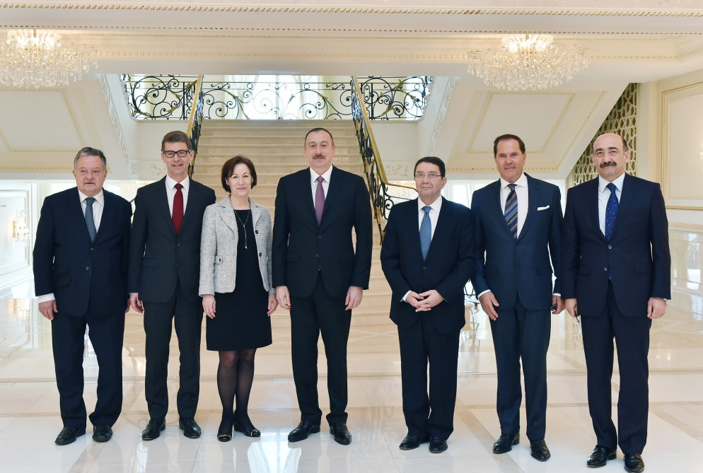Azerbaijani president receives delegation led by UNWTO secretary-general (PHOTO) - Gallery Image