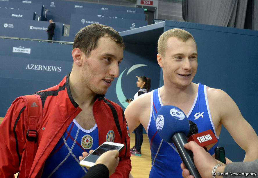 Azerbaijani trampolinists eye medals at FIG World Cup (PHOTO) - Gallery Image