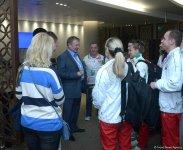 Belarus ambassador hails organization level of FIG World Cup in Trampoline Gymnastics in Baku - Gallery Thumbnail