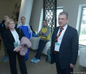 First Secretary of Ukraine's Embassy meets athletes on the World Cup in Trampoline Gymnastics in Baku (PHOTO) - Gallery Thumbnail