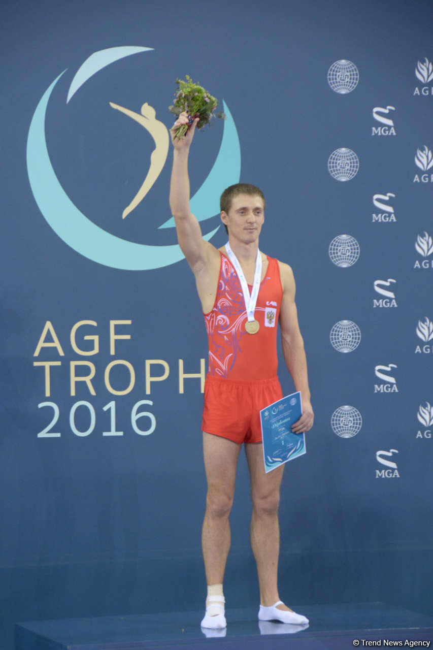 Russia wins gold in individual events at FIG World Cup in Trampoline Gymnastics