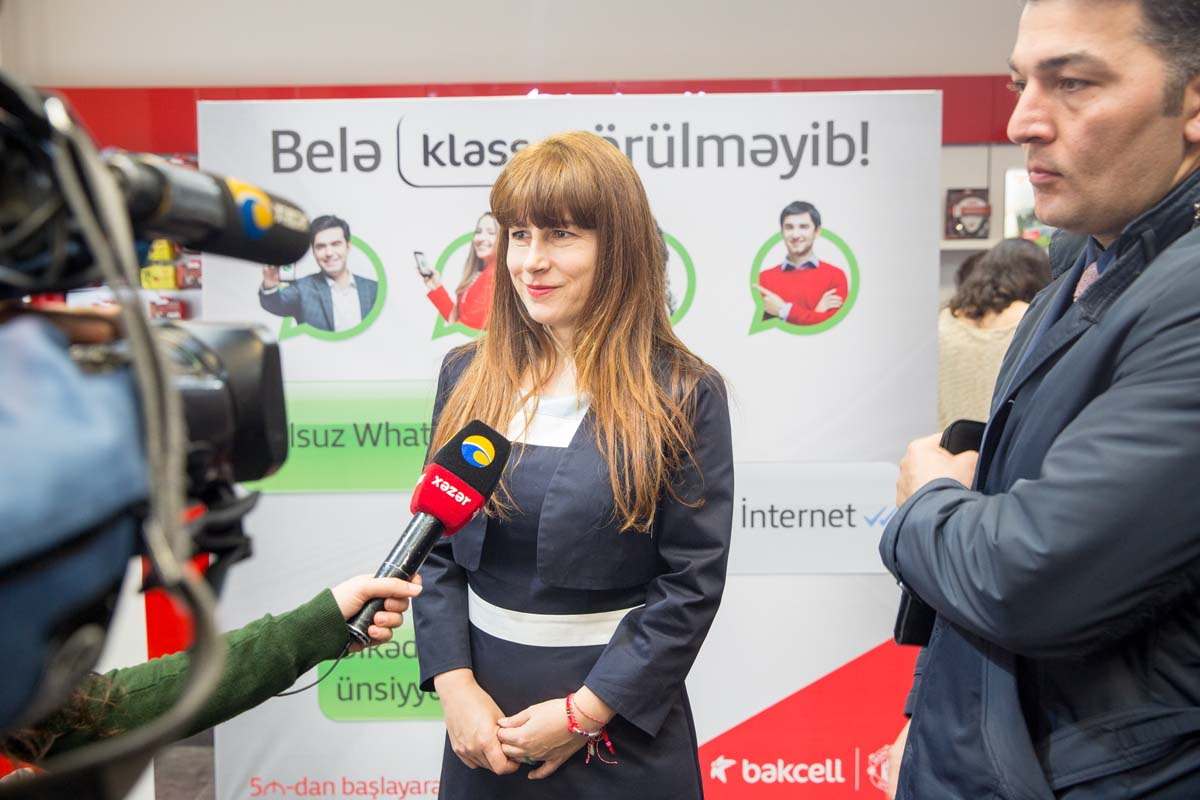 Free mobile internet access to Whatsapp and up to 3 times more data with Bakcell's new Klass tariffs - Gallery Image
