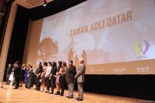 """Bakıda """"Zaman adlı qatar"""" filminin qala-gecəsi keçirildi – qırmızı xalı, alqışlar, göz yaşları... (FOTO) - Gallery Thumbnail"""