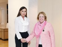 Azerbaijan's first lady meets Egyptian ambassador (PHOTO) - Gallery Thumbnail