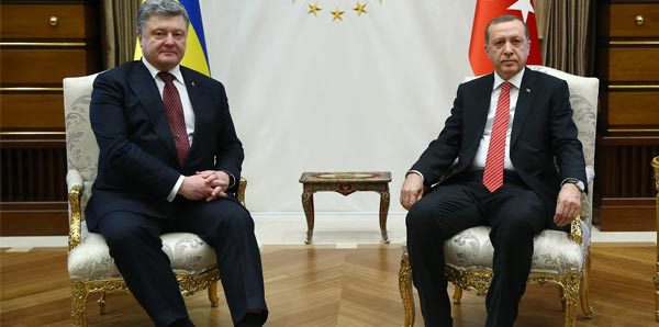 Turkish president expresses support for economic reforms in Ukraine