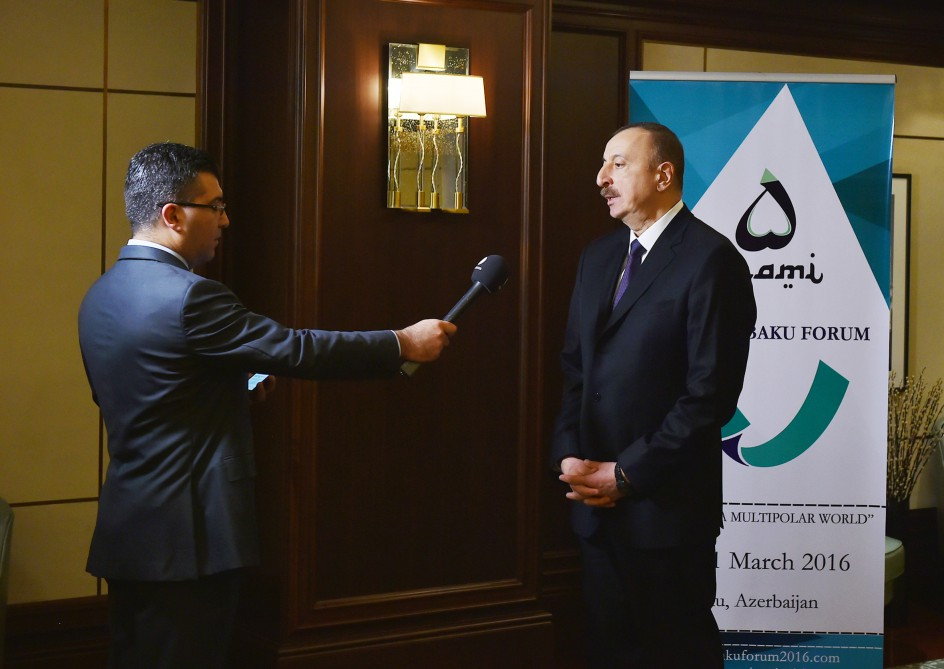 President Aliyev: Azerbaijan's dependence on oil to even reduce in coming years