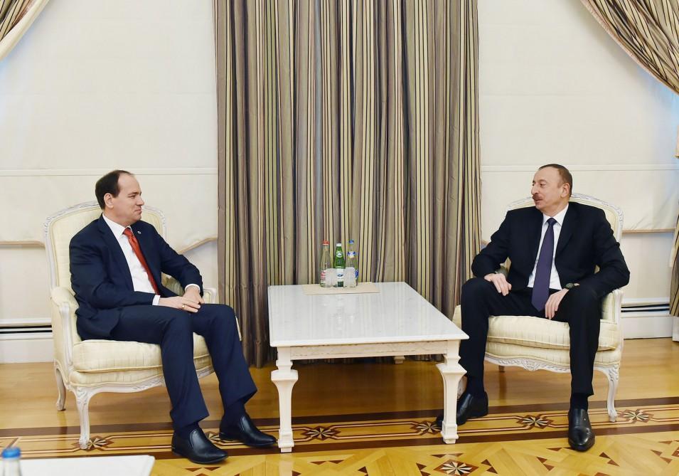 İlham Əliyev Albaniya Prezidenti ilə görüşüb