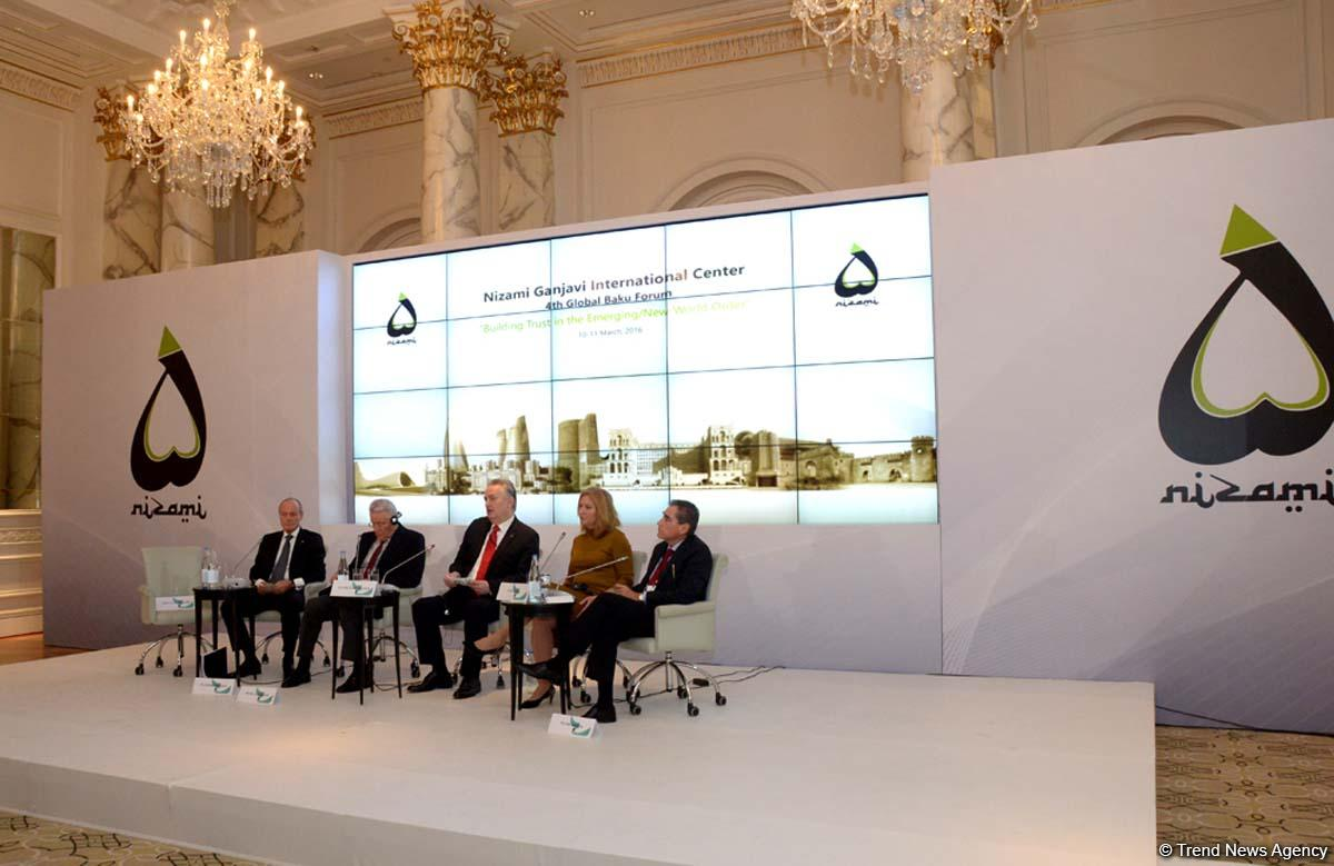 Significance of Global Baku Forum increasing - Columbia's ex-president