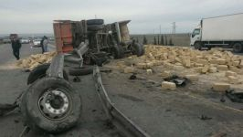 Yük maşını dövlət büdcəsinə 9 min manata yaxın ziyan vurdu (FOTO) - Gallery Thumbnail