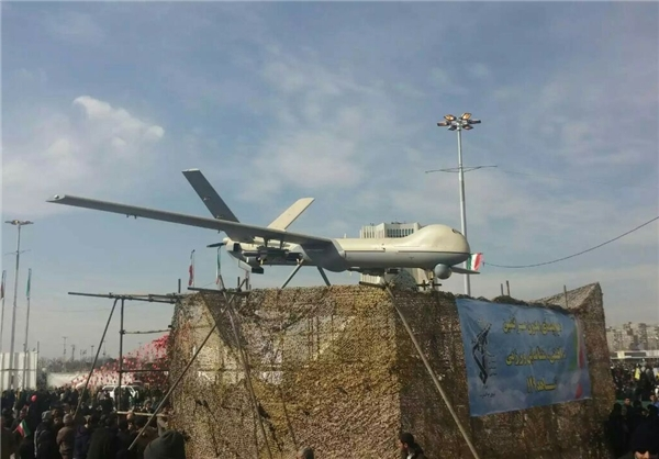 Iranian army tests home-made suicide drone
