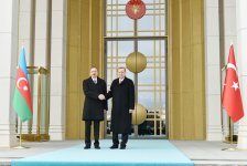 Ankara hosts official welcoming ceremony for Azerbaijan's president (PHOTO) - Gallery Thumbnail