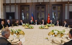Reception hosted in Turkey in honor of Azerbaijani president - Gallery Thumbnail