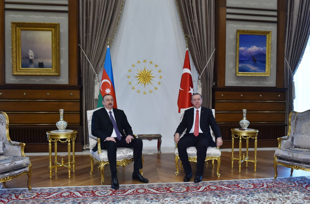 Azerbaijani, Turkish presidents hold one-on-one meeting - Gallery Image