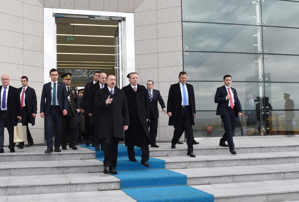 Azerbaijani president completes visit to Turkey - Gallery Image