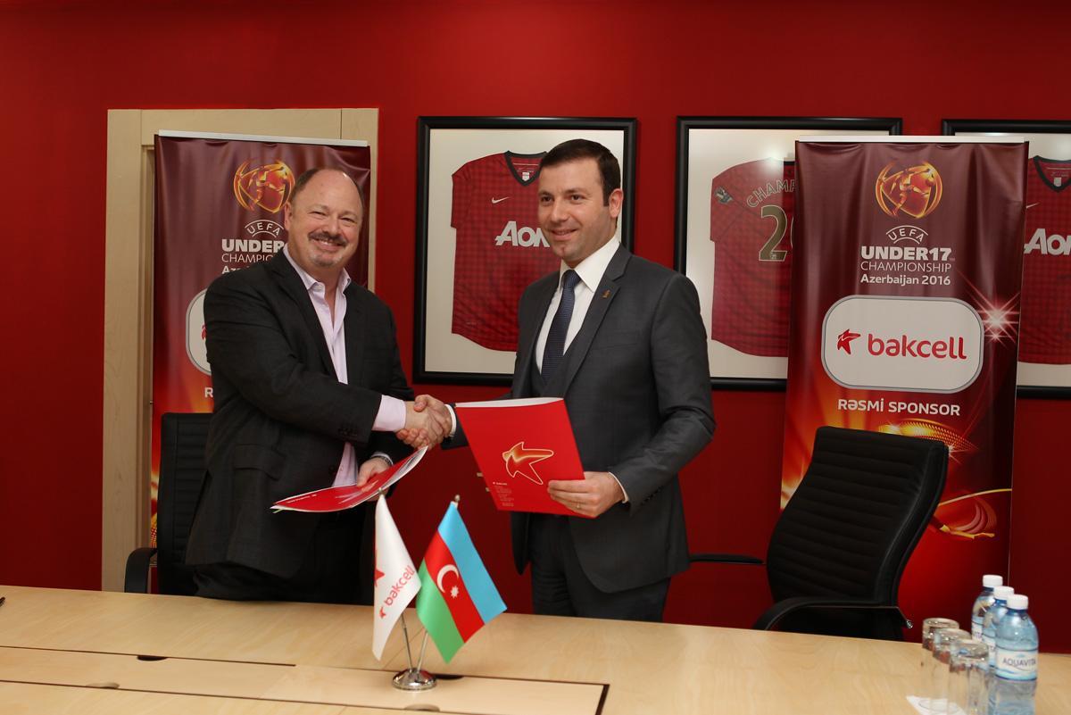 Bakcell becomes official sponsor of UEFA European U-17 Championship Azerbaijan 2016 - Gallery Image