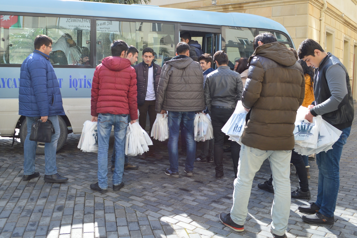 UNEC students' different Novruz gifts - Gallery Image