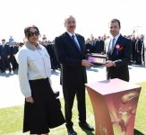 President Ilham Aliyev with spouse join nationwide festivities on occasion of Novruz (PHOTO) - Gallery Thumbnail