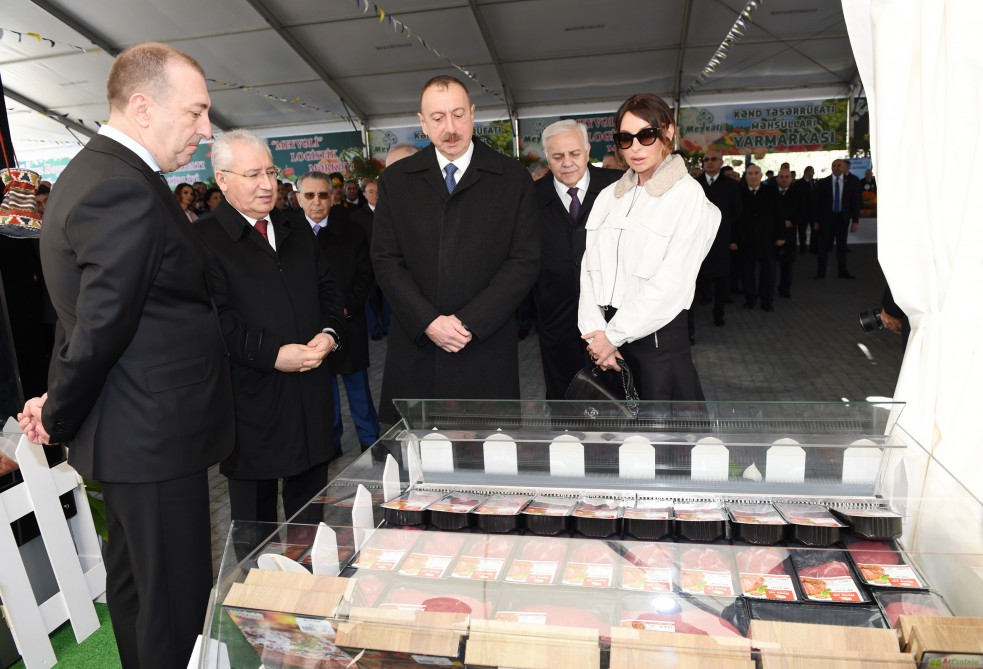 President Ilham Aliyev with spouse join nationwide festivities on occasion of Novruz (PHOTO) - Gallery Image