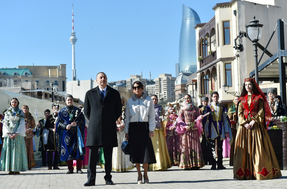 President Ilham Aliyev with spouse join nationwide festivities on occasion of Novruz (PHOTO)